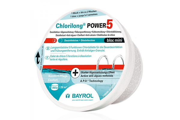 021134 - Bayrol - Chlorilong Power 5 Bloc - 0.65kg